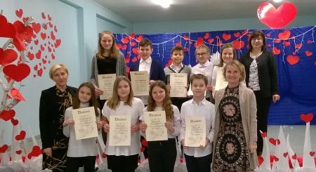 Sukces naszych uczniów w Miejskim Konkursie Recytorskim Pegazik
