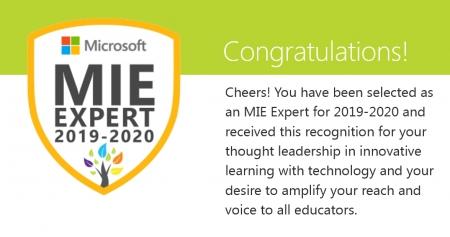 Tytuł Microsoft Innovative Educator Expert dla nauczycielek SP1