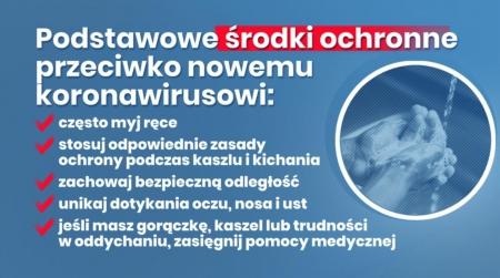 Informacja MEN i GIS w w związku z potencjalnym ryzykiem zakażenia koronawirus