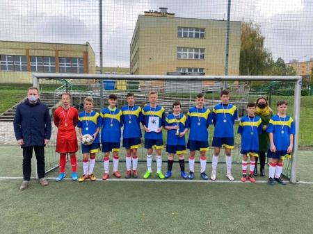 Mistrzowie Powiatu w piłce nożnej